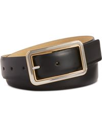 Style & Co. - Two-tone Buckle Pant Belt - Lyst