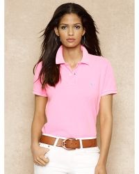 Ralph Lauren Blue Label Classic-fit Cotton Mesh Polo - Lyst