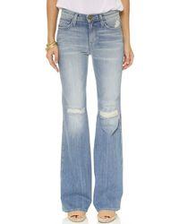 Current/Elliott The Girl Crush Jeans - Heirloom Repair - Lyst