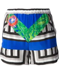 Jo No Fui Printed Shorts - Lyst