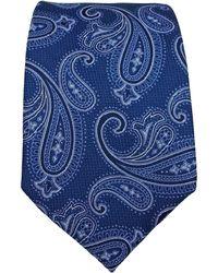 Black Brown 1826 - Fashion Paisley Silk Tie - Lyst