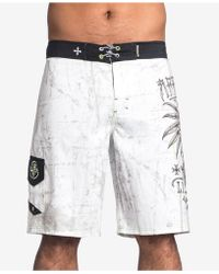 3fd13bb764 Men's Affliction Beachwear - Lyst