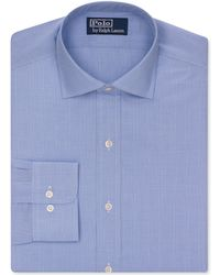 Ralph Lauren Polo Glen Plaid Dress Shirt - Lyst