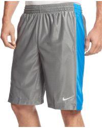 Nike Zone Mesh Basketball Shorts - Lyst