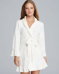 6d799e99b7 Juicy Couture - Cosy Terry Robe - Lyst