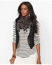 Denim & Supply Ralph Lauren Shawl-Collar Vest - Lyst