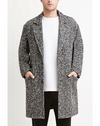 Forever 21 - Herringbone-patterned Coat - Lyst