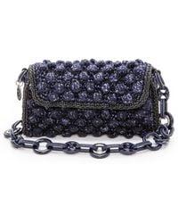 M Missoni - Boucle Knit Bag - Burgundy - Lyst