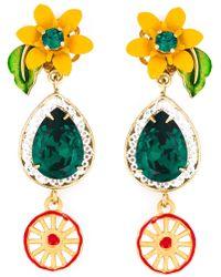 Dolce & Gabbana | 'dolce' Earrings | Lyst