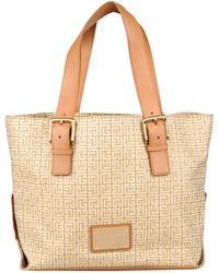 Balmain Handbag beige - Lyst