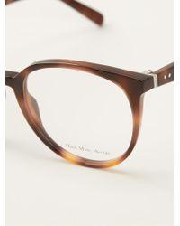 Celine Big Deep Round Glasses - Lyst