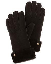 Karen Millen Sheepskin Glove - Lyst