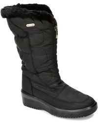 Pajar Laura Ice Gripper Wedge Boots - Lyst
