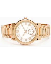 Nasty Gal Right On Time Watch - Lyst