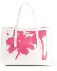 Moschino Cheap & Chic Floral Printed Tote - Lyst