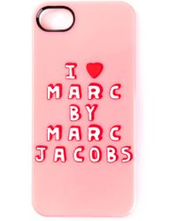 Marc By Marc Jacobs I Heart Marc Iphone 5s Case - Lyst