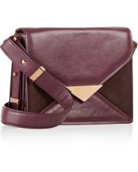 Stella McCartney Ella Faux Leather Shoulder Bag - Lyst