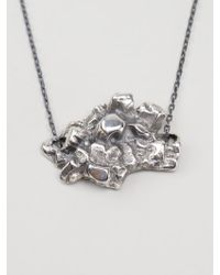 Maxime Llorens - Heart Crystal Pendant Necklace - Lyst
