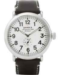 Shinola The Runwell Chronograph Watch 41mm - Lyst