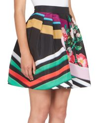 Mary Katrantzou   Algernon Printed Skirt   Lyst