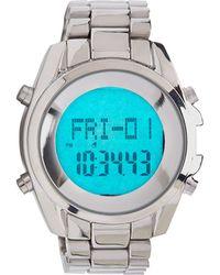 Forever 21 - Metallic Digital Display Watch - Lyst