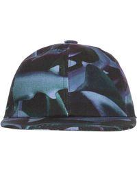 Tothem Shark Printed Cotton Canvas Baseball Hat - Lyst