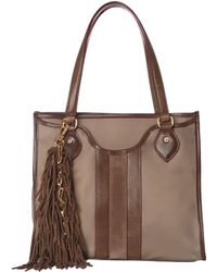 MZ Wallace - Jerry Tassel Cocoa Suede - Lyst