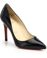 Christian Louboutin Pigalle Patent Leather Pumps - Lyst