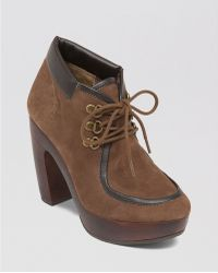 Lucky Brand - Lace Up Chukka Platform Booties - Cendara High Heel - Lyst