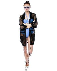 6 Shore Road By Pooja - Summer Night's Mesh Swim Jacket - Lyst