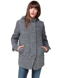 School Rag - Short Coat - Lyst