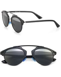 Dior So Real Metal Plastic Sunglasses - Lyst
