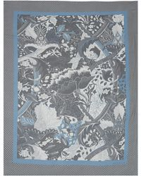 Jonathan Saunders Blue Scarf - Lyst