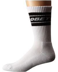 Obey - Cooper Socks - Lyst
