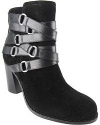 Adrienne Vittadini Maya Leather Boots - Lyst
