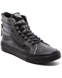 Vans Sk8-hi Slim Zip Sneaker - Lyst