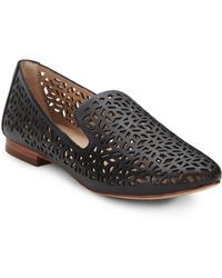 DV by Dolce Vita Mars Laser Cutout Leather Loafers - Lyst