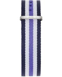 Daniel Wellington - 'classic Trinity' 18mm Nato Watch Strap - Lyst