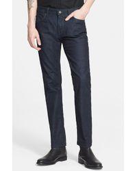 John Varvatos 'Bowery' Slim Straight Leg Jeans - Lyst