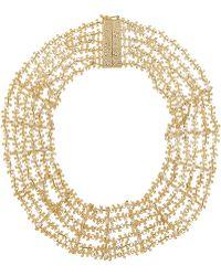 Rosantica - Fata Gold-tone Pearl Necklace - Lyst