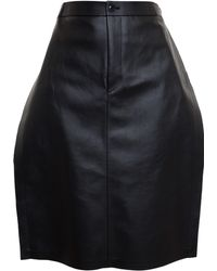 Junya Watanabe Eco Leather Skirt - Lyst