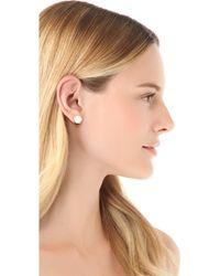Marc By Marc Jacobs - Bolt Stud Earrings - Lyst