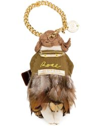 MUVEIL - Knitted Character Keyring - Lyst