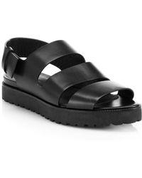 Alexander Wang Alisha Strappy Leather Sandals - Lyst