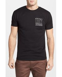 Obey 'Tinsmith' Graphic T-Shirt - Lyst