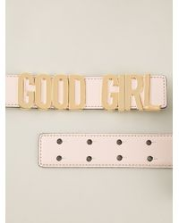 Moschino Good Girl Belt - Lyst