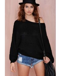 Nasty Gal Chill Factor Sweater - Lyst