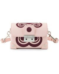 Holly Fulton - X Petek 1855 Pink & Burgundy Small Swirl Trunk Bag - Lyst