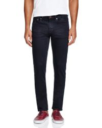 Blank - Super Slim Fit Jeans In Dark Wash - Lyst