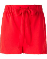 Forte Forte Bow Detail Shorts - Lyst
